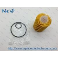Buy cheap 04152-38010 Replacing Oil Filter In Car , Paper Oil Filter Car Filtration from Wholesalers