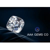 Super Colorless Moissanite , Cushion Cut Moissanite In Size 6.5mm