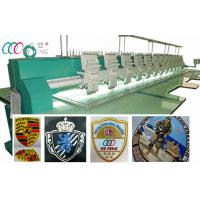 Buy cheap Leather Clothing / bag / Shoe Computerized Embroidery Machine 12 Head from wholesalers