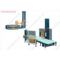 Full automatic pallet wrapper machine,MH-FG-2000D line with automatic up and cutting film