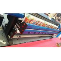 China 3.2M Wall Paper Eco Solvent Printer in 2 pcs DX5 Head CMYK 4 Color on sale