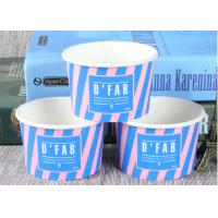 Buy cheap Take Away Custom Branded Ice Cream Cups Food Grade For Frozen Yogurt from Wholesalers