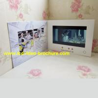 """Buy cheap 4.3"""" , 5 inch video player advertisement card,advertising video book with Touch screen from Wholesalers"""