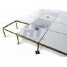 Customized Steel Computer Room Flooring , HPL Anti Static Raised Floor