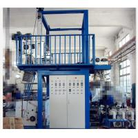Buy cheap Plastic Extrusion PVC Film Blowing Machine , 600 - 1000mm Width PVC  Shrink Film Machine from wholesalers