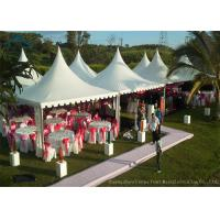 Buy cheap Easy-Assembly Aluminium Frame Pagoda Tents For Outdoor Wedding Parties With 5m by 5m Size from Wholesalers