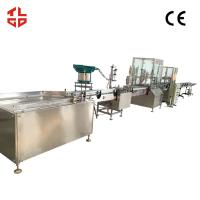 Quality Vacuum Crimping Oxygen Filling Machine for Oxygen Gas / Fresh Air 2000-3200 cans/ hour wholesale