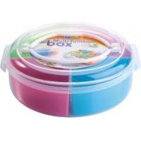 China Portable Gift Plastic Tableware Set Candy Box Tin With Custom Color Logo on sale