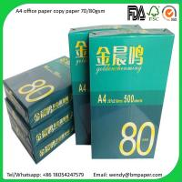 China A4 Copier Paper Indonesia 80 gsm/75 gsm/70 gsm Copier Papers on sale