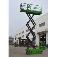 Buy cheap Self Propelled Scissor Lift With Extension Length 0.9m , 380Kg Theatre / Hospital Self Propelled Platform from wholesalers