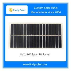 8V 1.9W Solar PV Panel