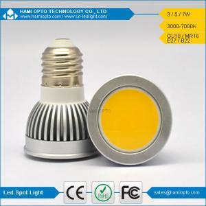 Buy cheap 2014 new design E27 led spot light cob 3 watts warm white from Wholesalers
