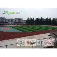 Buy cheap Environmentally - Friendly Polyurethane Track Surface Red Or Customized from wholesalers