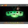 Plastic Waterproof LED Sofas / Outdoor LED furniture 5V 4400mAh