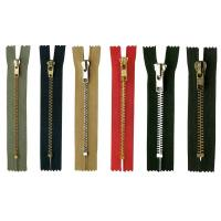 Buy cheap No.5 Metal Zipper Close End For Clothes , Lock Slider metal zipper pull from Wholesalers