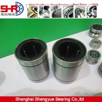 Buy cheap cylindrical linear bearing LM25UU/AJ/OP slide contact bearing from Wholesalers