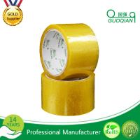 Buy cheap Carton Adhesive Transparent BOPP Packing Tape Customized 48mmx66mm Width from Wholesalers