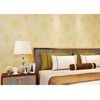 China Custom Washable Bedroom Contemporary Wallpaper For Home , 3D Interior Wallpaper Anti Cracking on sale