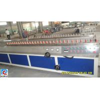 Buy cheap PP / PE Wall Board Plastic Profile Extrusion Line , PE Profile Extrusion Machinery from Wholesalers