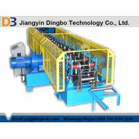Buy cheap Perforated Cable Tray Roll Forming Machine , Hydraulic Cutting Cold Cable Tray Production Line from Wholesalers