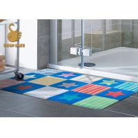Quality Custom Outdoor Anti Slip Area Rugs For Indoor Mats With PVC Coated Dots wholesale