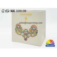 Buy cheap Matt Laminated Elegant Paper Gift Bag With Chinese Characteristics from wholesalers