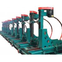 China woodworking vertical band saw mill machine with trolley CNC log carriage on sale