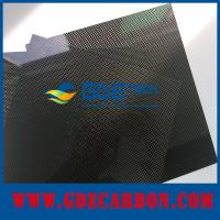 Buy cheap 1mm carbon fiber sheet from Wholesalers