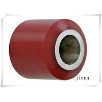 Buy cheap Cast Iron Polyurethane Wheels Dia High Tear Resistance 80 * 70 / 60 / 55 Width from wholesalers