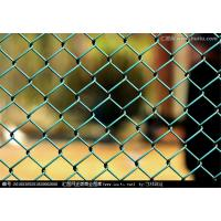 Buy cheap Flexible Galvanized Chain Link Fence Mesh , Green Chain Link Fencing High Strength from wholesalers