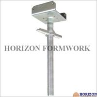 Buy cheap Tubular Scaffold Screw Jack High Tensile Steel Adjusting Scaffolding Heights from Wholesalers