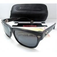 Buy cheap Chrome Hearts Sunglasses FILLED in Black Alloy Full Rim Frame /  Wraparound Lens For Men from Wholesalers