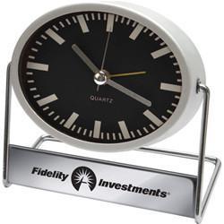 Swiveling Metal Alarm Clock