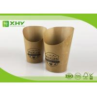 Buy cheap Custom Logo Printed Kraft Paper French Fries Cups BRC Certificated 9oz from wholesalers