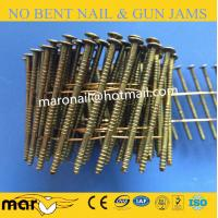 Buy cheap 15 Degree Coil Nails for Wood Pallets with Top Quality from wholesalers