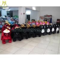 Buy cheap Hansel plush riding animals on shopping mall with china factory price electric animal ride bike from Wholesalers