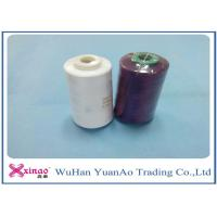 Buy cheap 100% Spun Polyester Yarn 1.33D * 38mm Sewing Thread 40S/2 For Sewing from Wholesalers