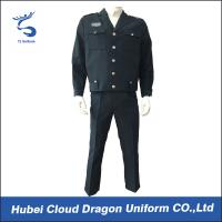 Buy cheap Custom Navy Tactical Security Guard Uniform suits from Wholesalers