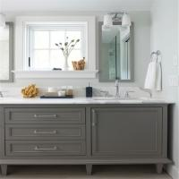 Buy cheap Customized Bathroom Prima Vanity Furniture Modern Design With Double Sink from wholesalers