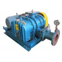 China Conveying gas blower High Pressure roots lobe blower for non corrosive gas convey 98kpa 15kw Size 125mm on sale