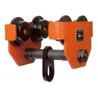 Quality TP 0.5 Ton Steel Forged Electric Hoist Trolley , Factory Warehouse Lifting Beam Trolley wholesale