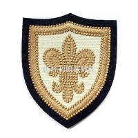 Individual Clothing Embroidered Patches , Embroidered Badges For Jackets