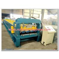 Buy cheap Automatic Galvanised Steel Floor Decking Tile Cold Rollforming Making Machine for Concrete Deck from wholesalers