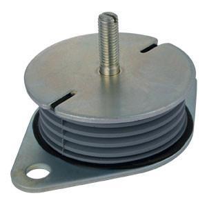 Buy cheap Custom Made NR Rubber & Steel Isolator Damper from wholesalers