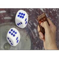 Buy cheap Non Magnetic Electronic Dice Cheating Device With Remote Control 8 / 10 / 12 / 14mm from Wholesalers