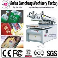 China 2014 Advanced 4 color 4 station t-shirt screen printing machine on sale