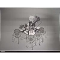 Buy cheap Silver Color Automated Assembly Equipment For Hose Clamp Hoop 5300*1400*1800mm from wholesalers