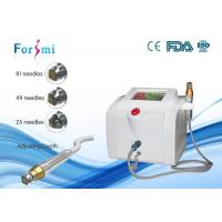 Buy cheap Portable skin maintenance microneedle nurse system  80W power 5Mhz frequency from Wholesalers
