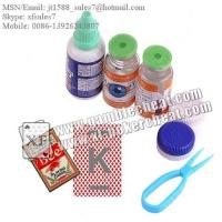 Buy cheap XF Contact Lenses For Poker Invisible Ink UV Marking Playing Cards from Wholesalers