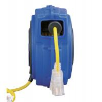 Buy cheap Yellow 125V 40' Commercial Lighted Goodyear Hose Reel With Circuit Breaker from wholesalers